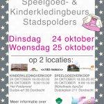 Speelgoed-en kinderkleding beurs stadspolders