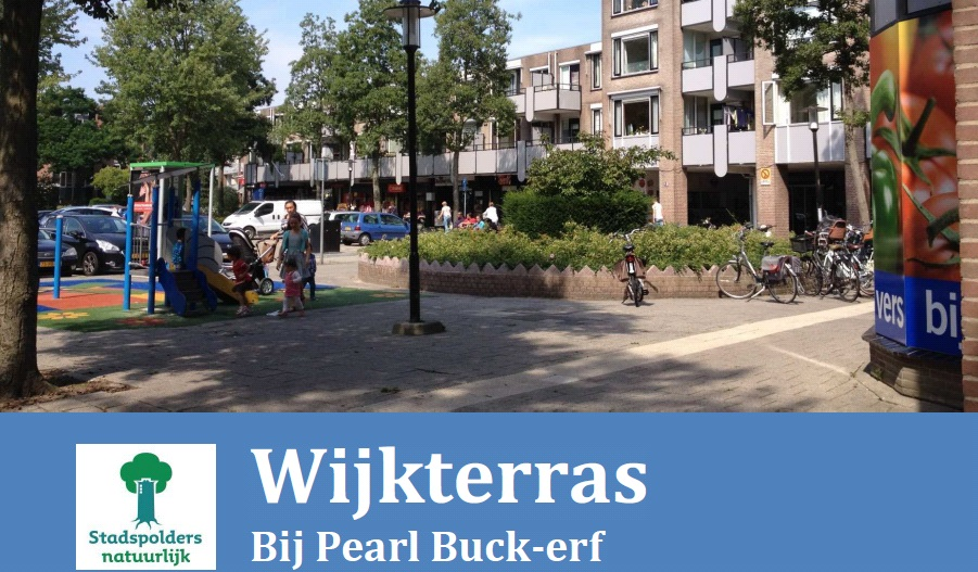 MEE Buurtwerk Oost Wijkterras Pearl Buck-erf